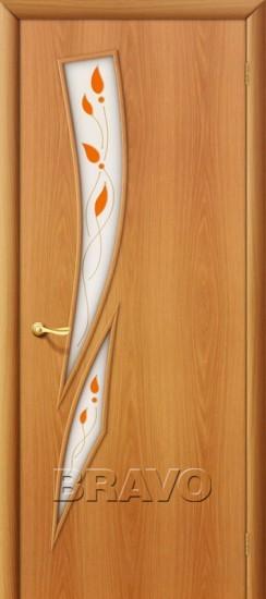 Межкомнатная ламинированная дверь 8П миланский орех