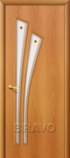 Межкомнатная ламинированная дверь 4Ф миланский орех