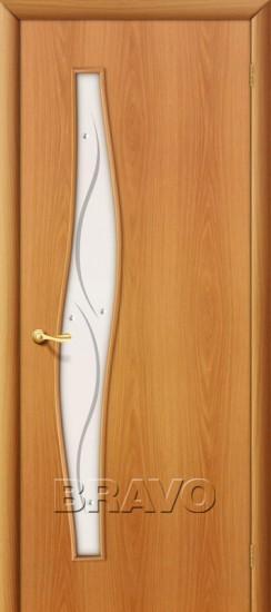 Межкомнатная ламинированная дверь 6Ф миланский орех